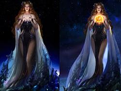 大地女神的过程