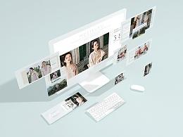 《茉莉扶苏》物料及网页设计