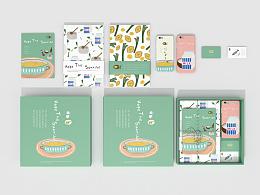 云南《禾芽》月子营养膳食品牌周边产品设计