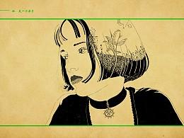 肖像插画·手绘
