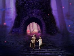梦幻童话海报合成练习