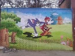格尔彩绘工作室出品  幼儿园墙绘