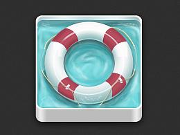 UI图标-游泳圈