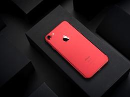 静物练习:iPhone 7 Red.