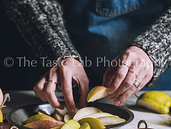 食摄——20170115蜂蜜香梨派