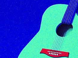 C4D 练习- 吉他