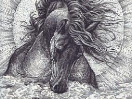 《守护者之泪》手绘过程