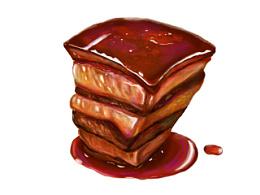 画上美味,无肉不雅——《东坡肉》