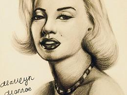 素描——Marilyn Monroe