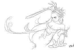 女战士女神
