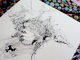 原创手绘插画