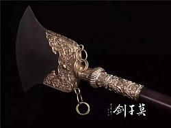 莫干剑——长兵作品