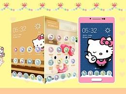 手机主题_Hello Kitty