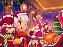 温馨的圣诞夜