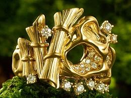 周大福名贵珠宝摄影修图