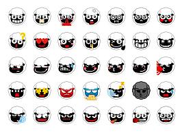 小年羊emoji表情60粒