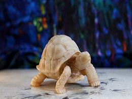 老挝石 写实派雕刻 亚达陆龟