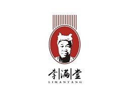 李满堂手工挂面logo