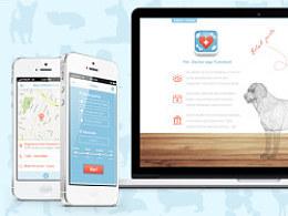 宠物医生iPhoneApp&网站WEB设计
