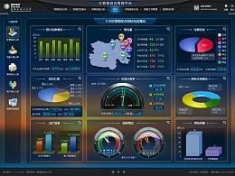 大营销综合管理平台UI设计-蓝色版本