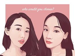 Portraits|Who would you choose?