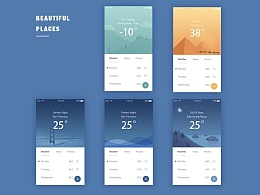 Copying - weather app concept
