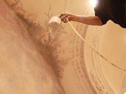香港高级时装品牌SIU银泰店铺壁画项目【观音涂鸦工作室】