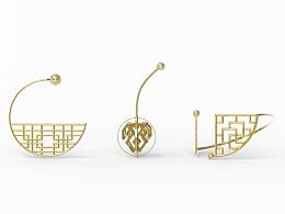 中国传统纹样-首饰设计