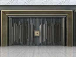 中式庭院大门设计