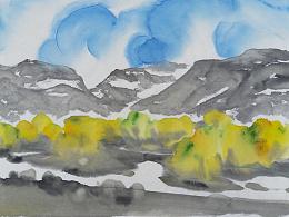 《意象西藏》系列 - 纸本水墨