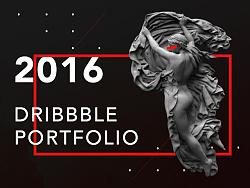 2016年Dribbble作品合集
