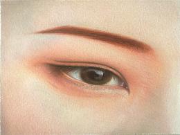 彩铅—眼睛