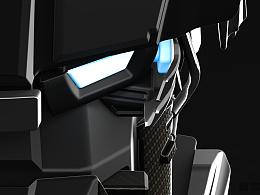 机器人头部概念设定 0603