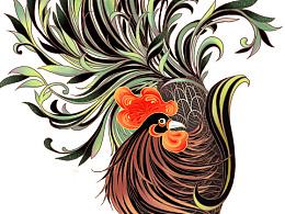 鸡年大吉!为森海塞尔品牌所作的插画#闻机起#