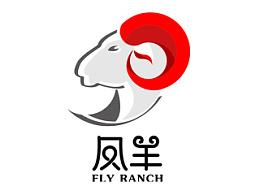 凤羊牧场 logo设计思路  (以商用,请勿盗用)