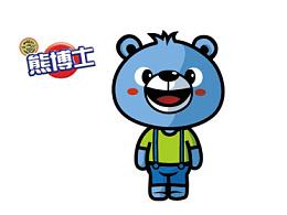 熊博士卡通形象