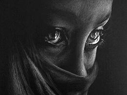 黑色背景之一:人像系列