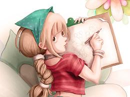 画画的姑娘