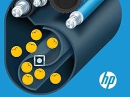 亮彩小碳粉,精彩大世界-惠普打印机智捷之旅