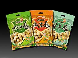 花生食品包装袋设计-小设鬼品牌策划