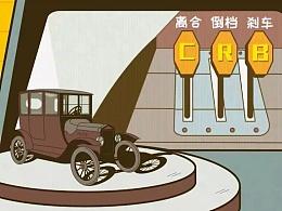 视知视频:动画,为啥汽车不能设计成左脚刹车右脚油门?