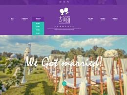 一个婚礼网页飞机案