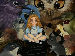 一个又长又悲伤的故事——爱丽丝漫游仙境