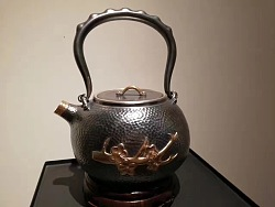 莫干剑——紫铜壶