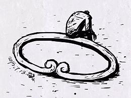 吉祥物语的插画日记(二十 八)2015年7月天天插画集
