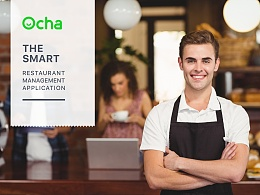 Ocha Logo Design - The Smart Restaurant Management