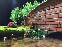 蒸汽工场×模神|②小人国森林小河场景