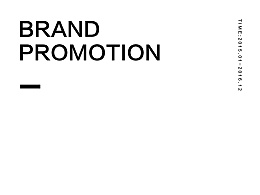BRAND PROMOTION 1