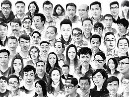 梅州DS 媒体试驾会。现场绘制肖像活动。(图多流量慎点)