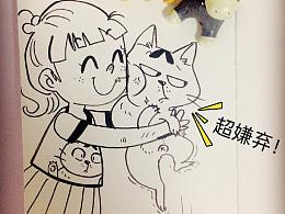 """一些关于猫的""""小涂鸦"""""""